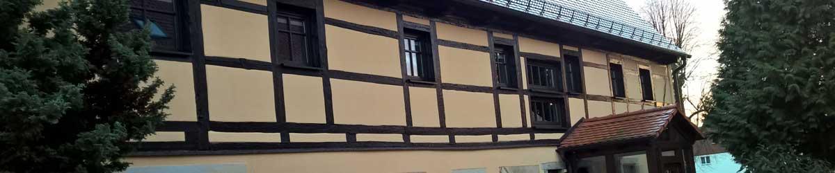 Fassadengestaltung mit Silikatfarbe